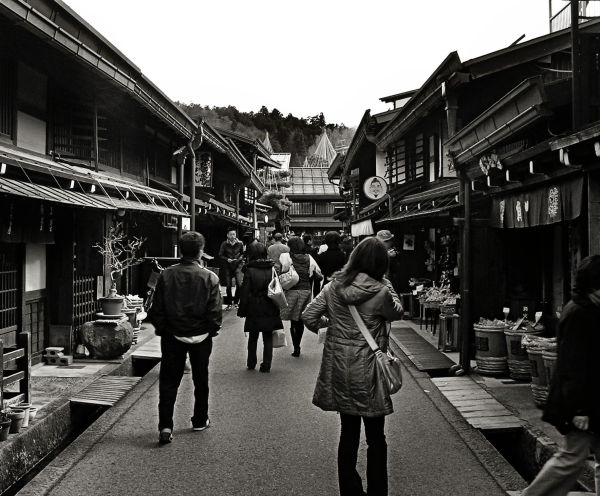 Sightseeing in Takayama