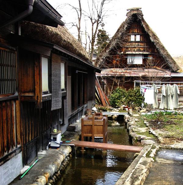 Shirakawa-go Hida Gifu Japan Gasshō-zukuri