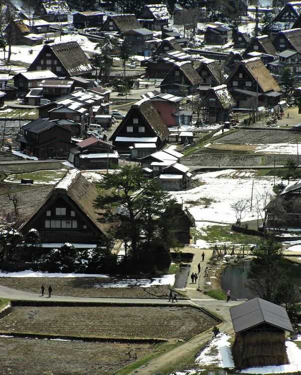 View Over Shirakawa go