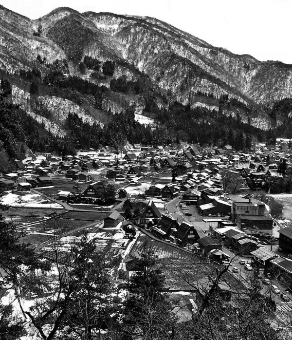 View Over Shirakawa go 2
