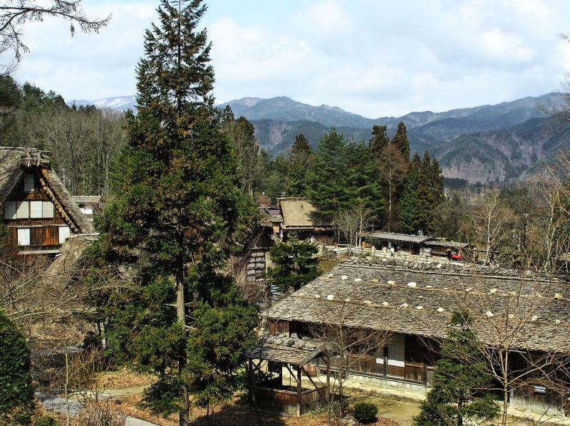 hida takayama japan gifu hida-folk-village