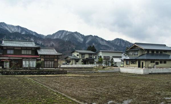 Leaving Takayama: Suburban Houses