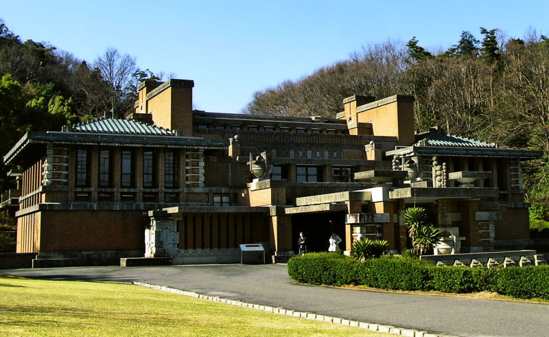 frank-lloyd-wright inuyama japan imperial-hotel