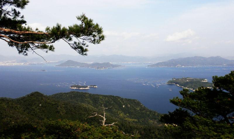 hiroshima japan miyajima misen itsukushima