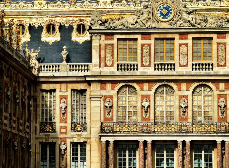 versailles france palace facade