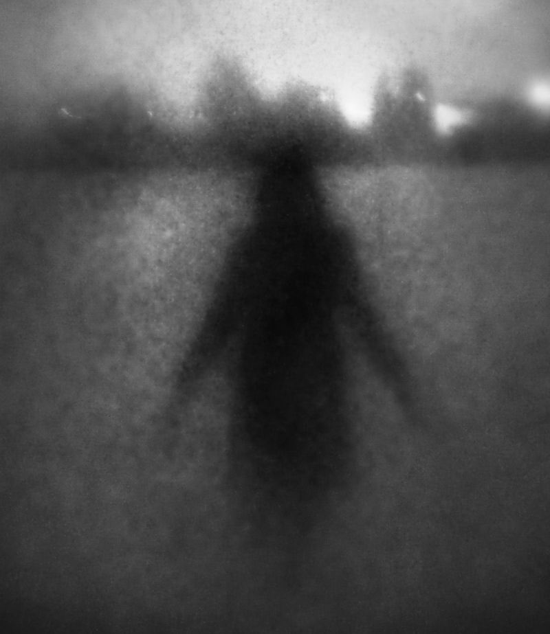 snow england new-malden silhouette