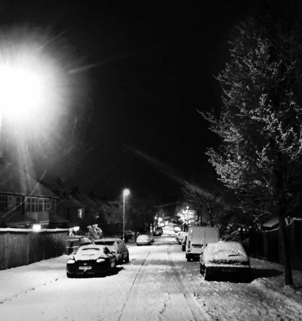Winter Night, New Malden 12