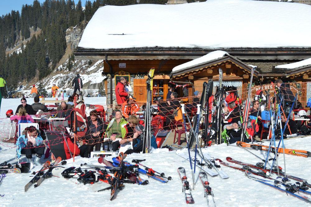 france Châtel ski snow Pré-la-Joux