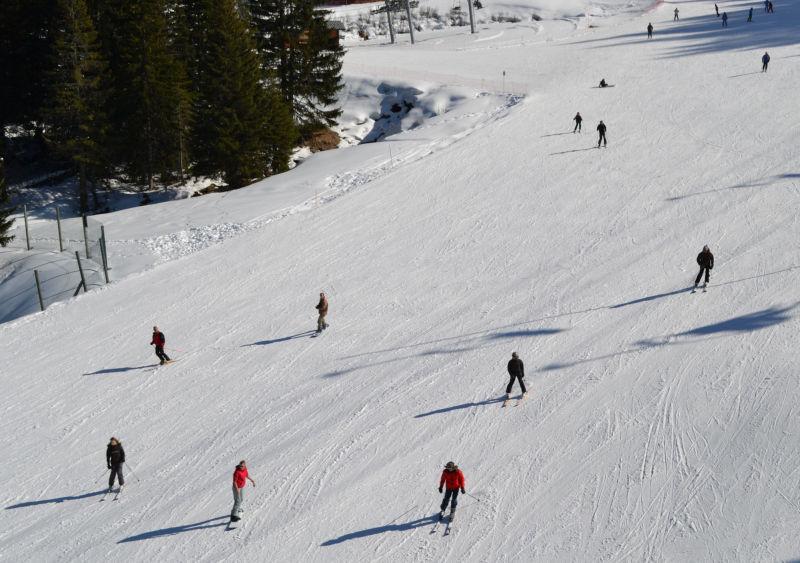 france chatel ski snow pré-la-joux mountain
