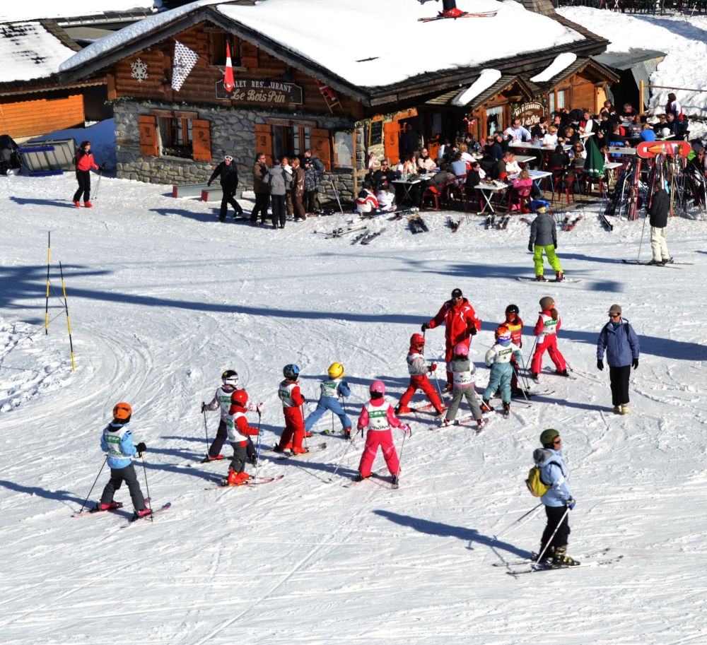 france chatel ski snow pré-la-joux children