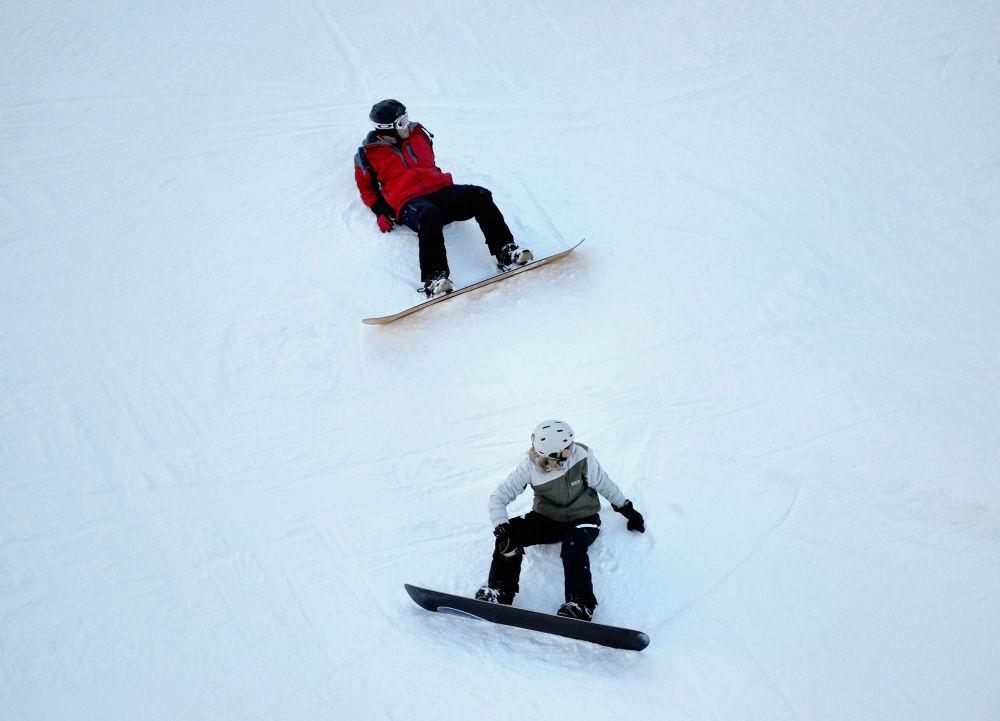 france chatel snowboard snow pré-la-joux