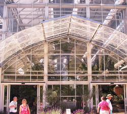 england wisley garden greenhouse