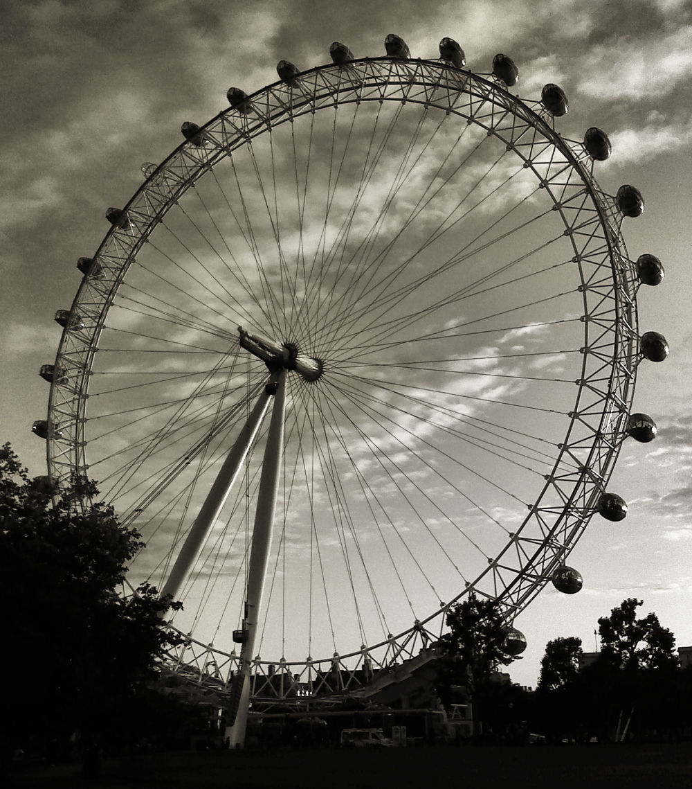 london london-eye england thames south-bank
