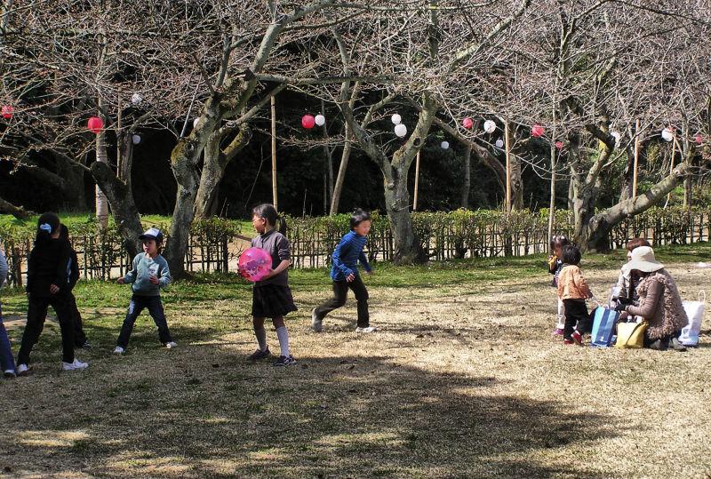 Ritsurin-koen takamatsu japan garden children