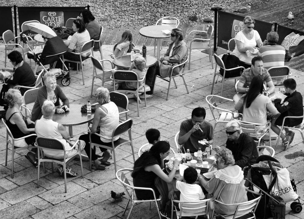 brighton england tourist restaurant cafe