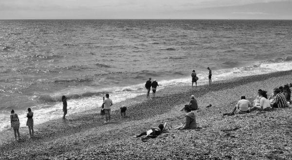 brighton england seaside beach tourist