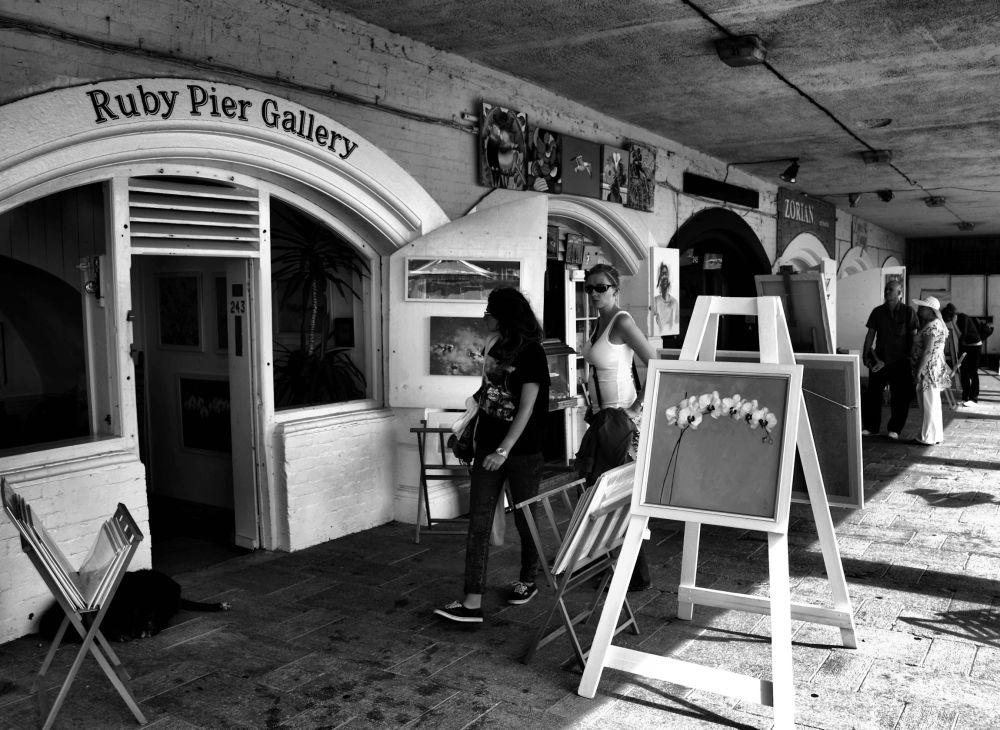 brighton england gallery tourist