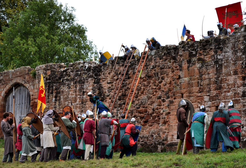 kenilworth-castle castle england battle