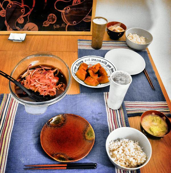 dinner japan fish england nambanzuke worcester-par