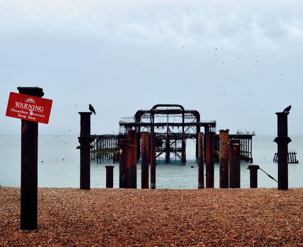 brighton england seaside pier