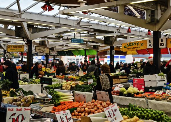 leicester market england