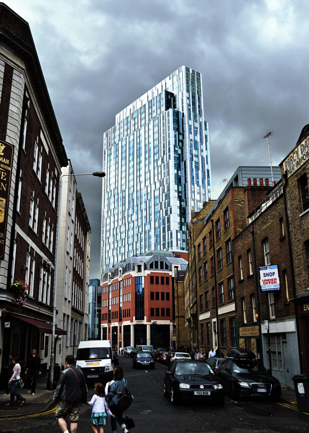 london england building