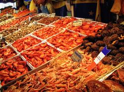 paris france fish market bastille-market