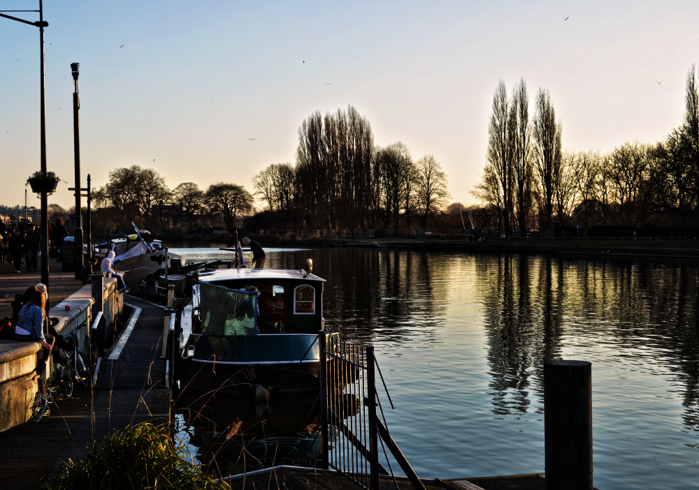 england kingston barge river thames