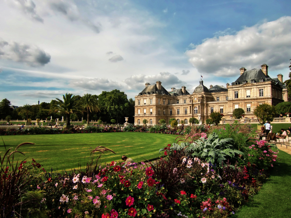 paris france garden Jardin-du-Luxembourg