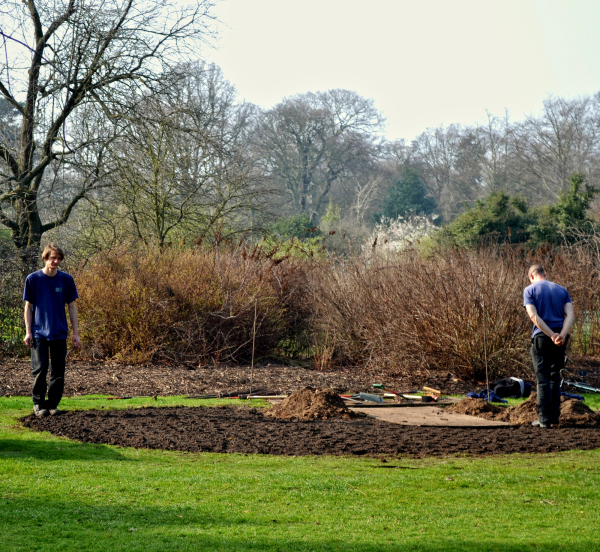 kew-gardens england garden gardener