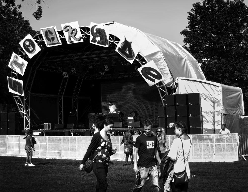 Lovebox festival london england victoria-park
