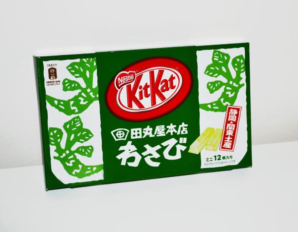 omiyage japan kit-kat wasabi souvenir