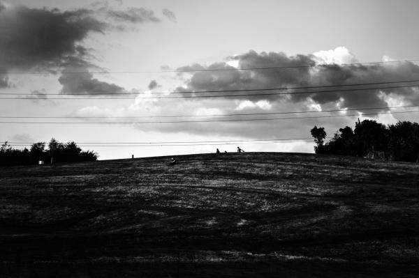 worcester-park england sunset