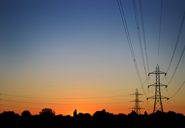 motspur-park england sunset pylon