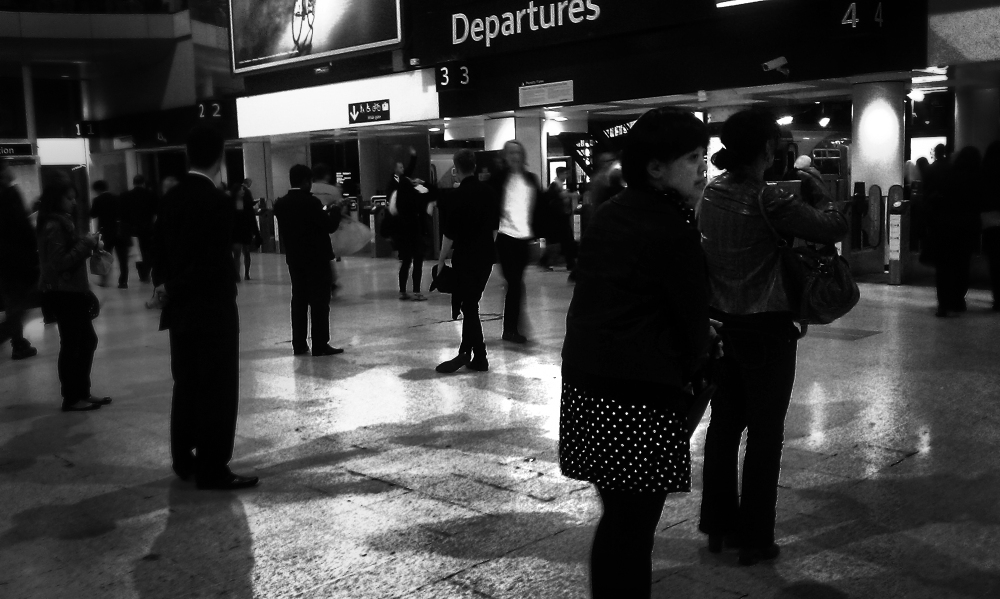 london england waterloo station