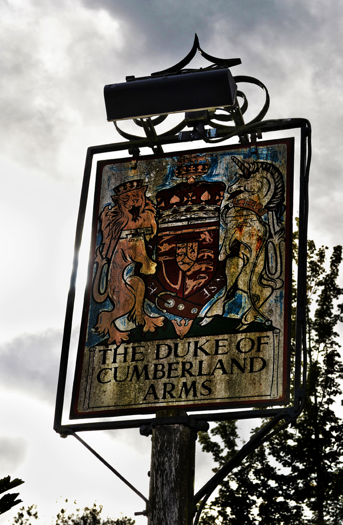 pub england west-sussex sign