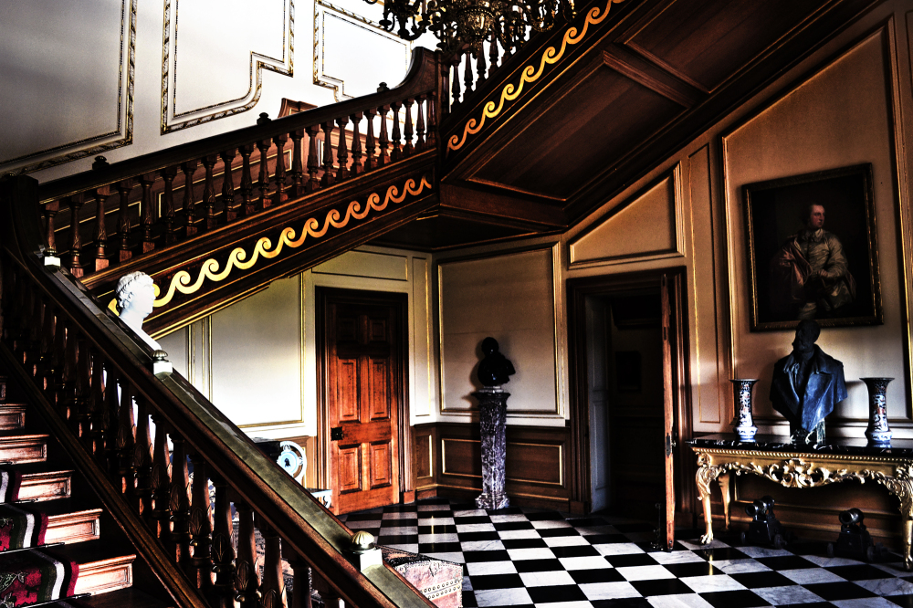lincolnshire england belton-house stairs