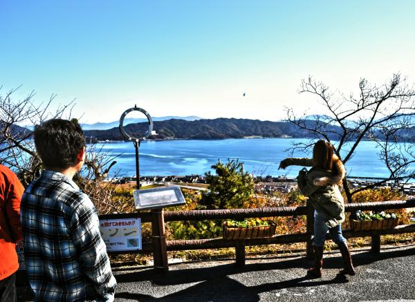 japan kyoto amanohashidate sea mountain tourist