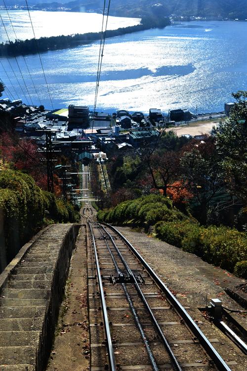 japan kyoto amanohashidate cable-car mountain