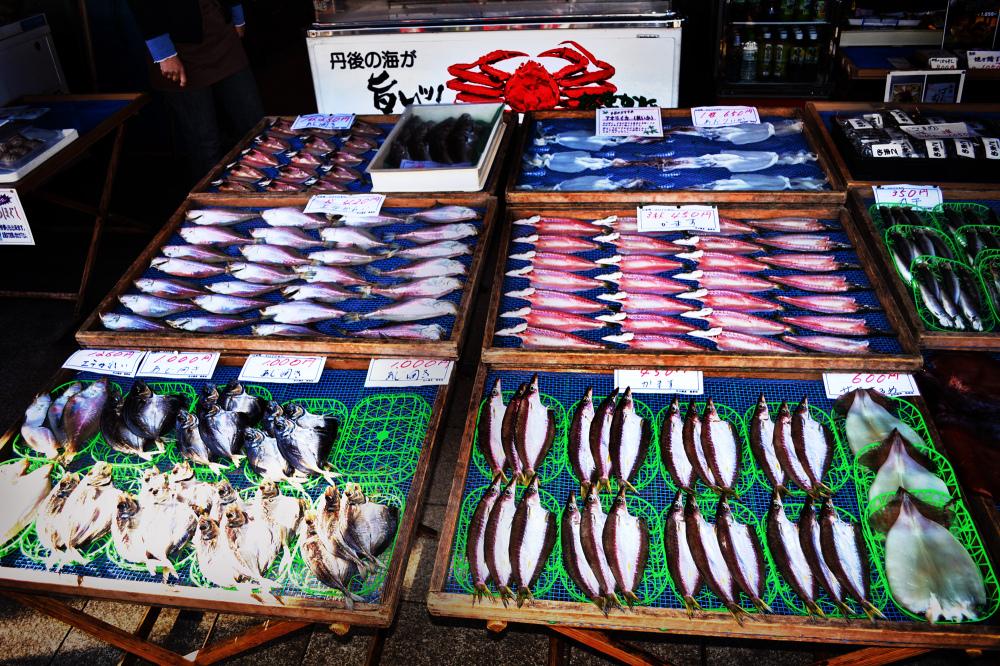 japan kyoto amanohashidate himono fish