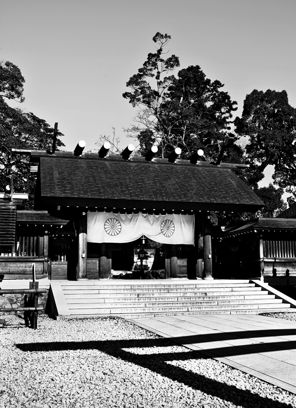 Shrine, Amanohashidate