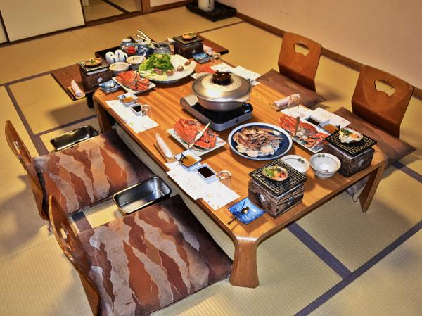 Ryokan Dinner, Kinosaki Onsen