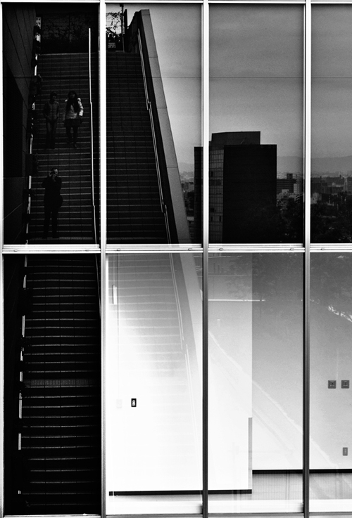 osaka umeda japan city reflection