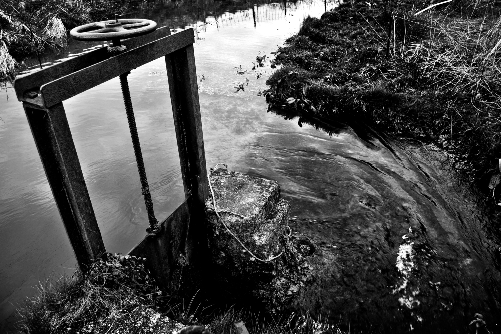 chard somerset hornsbury-mill england flume sluice