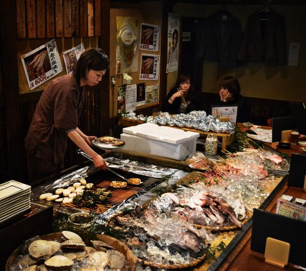 rikimaru izakaya robata restaurant umeda osaka