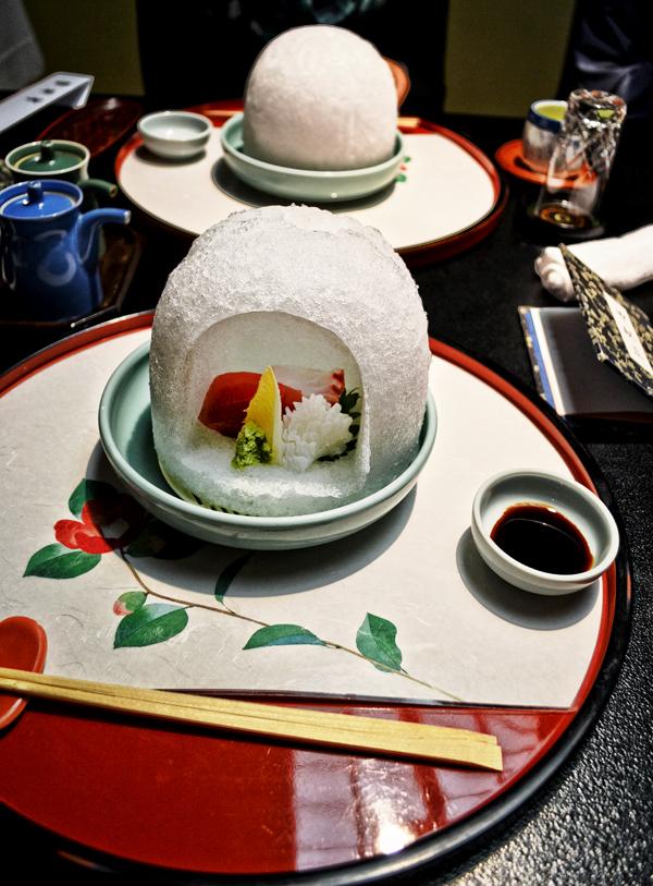 kagoshima ibusuki kyushu japan ryokan sashimi