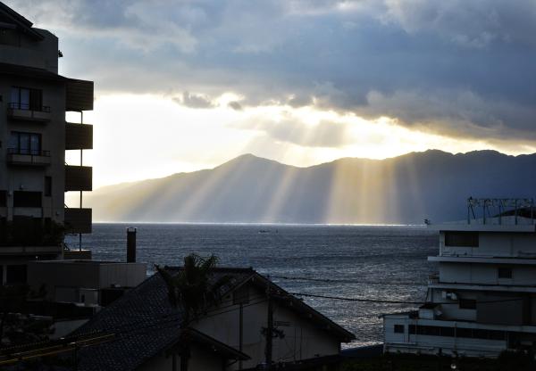 Sunrise in Ibusuki