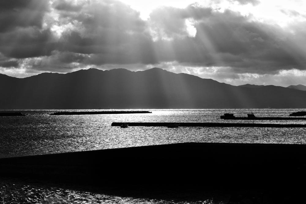 kagoshima ibusuki kyushu japan sunrise sea