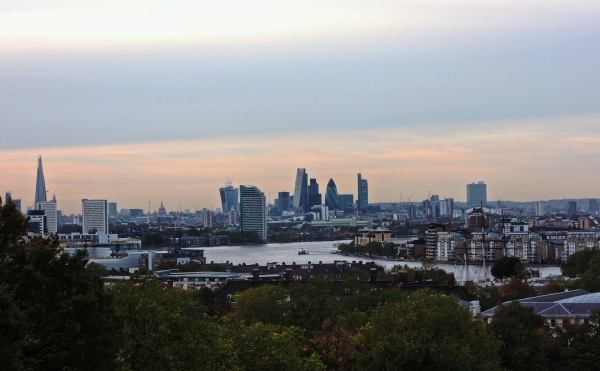 View from Greenwich Park 2