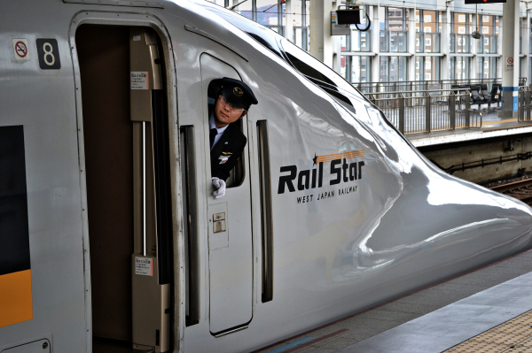 shinkansen train japan driver station